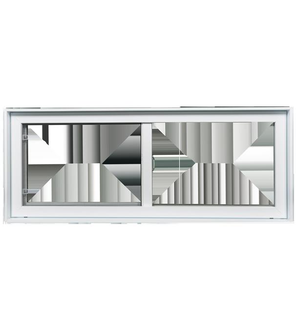 Fenetre sous sol for Fenetre rectangle