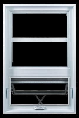 Fenêtre à auvent FENBEC, finition intérieure