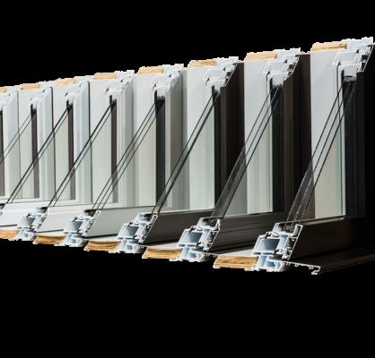 Une gamme complète de fenêtres
