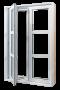 Fenêtre à battant en PVC, collection Urbain